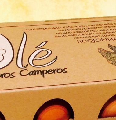 Olé Tus Huevos Camperos - Envases